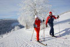 Skilanglauf auf dem Fichtelberg