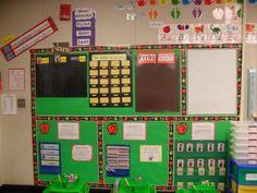 Great classroom organization!