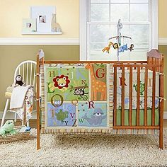 The bedding we did end up getting - but we never used the bumper....bumper free crib bedding sets could be a good product to carry