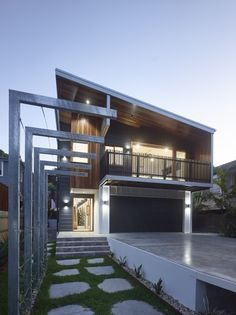 Home exterior design ideas scyon wall cladding and floors modern perfect for queenslands climate scyon cladding is moisture resistant malvernweather Gallery