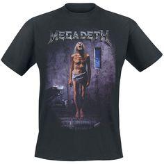 20,99e Countdown to extinction (T-paita) - Megadeth. koko M