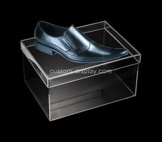 Custom transparent acrylic shoe box with lid, custom perspex box Acrylic Sheets, Acrylic Box, Box Supplier, Box With Lid, Color Shapes, Shoe Storage, Shoe Box, Laser Engraving, Shoes