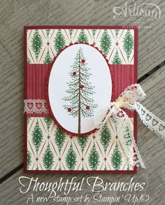 Stampin' Up! Thoughtful Branches 4 stampin365.com. See more ideas: https://www.pinterest.com/inkshimmershine/stampin-up-thoughtful-branches/
