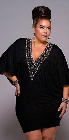 Looks plus size para festa Party Outfit Plus Size, Plus Size Party Dresses, Plus Size Outfits, Plus Size Tunic Dress, Plus Size Black Dresses, Tunic Dresses, Dress Tops, Linen Dresses, Club Dresses