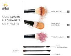 Dicas Natura ByLee: Dúvidas na hora de escolher Pincéis de Maquiagem? E sabe como e quando usá-los?