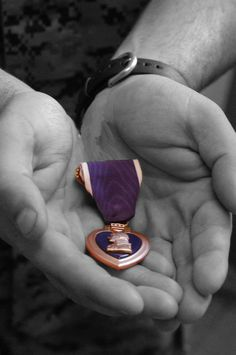 Purple Heart - In their bravery, some gave all.  Thank you!