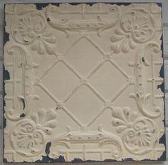 2 X2 Antique Ceiling Tile Circa 1910 Original By Driveinservice