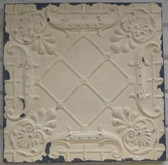 2'x2' Antique Ceiling Tile Circa 1910 Original by DriveInService, $59.00