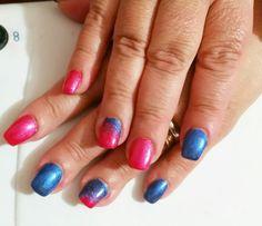 Fucsia  (andromeda ) blu (zaffiro )