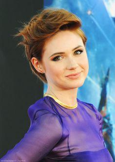Karen Gillan...she looks like Rapunzel!!!