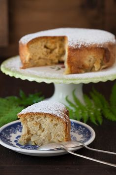 """Sharlotka - Apple Cake at Cooking Melangery  A popular dessert dish named """"Charlotte"""", or in Russian pronunciation """"Sharlotka"""" – apple cake. The recipe is very simple and cake can be served either warm or cold."""