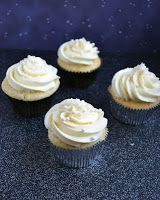 Champagne Cupcakes perfect for New Year's Eve