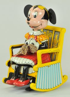 MINNIE MOUSE KNITTER Learn about your collectibles, antiques, valuables, and vintage items from licensed appraisers, auctioneers, and experts. http://www.bluevaultsecure.com/roadshow-events.php