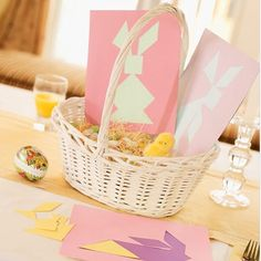 Click Pic for 50 Easter Crafts for Kids - Bunny Tangrams - Easter Craft Ideas for Preschoolers