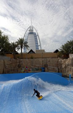 Located in the shadows of the iconic Burj Al Arab, Wild Wadi Waterpark continues to offer gravity-defying thrills and awesome spills. You can enjoy 30 rides and attractions, including the Wipeout and Riptide Flowriders surfing experiences.
