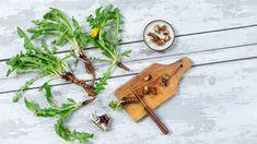 Löwenzahnwurzel - Hervorragende Bitterstoffquelle - Kräuterkeller Taraxacum Officinale, Kraut, Bamboo Cutting Board, Medicinal Plants, Nth Root, Health