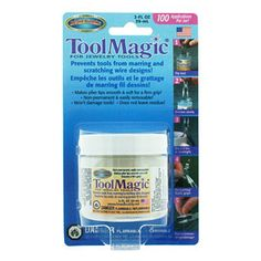 Tool Magic - Goes on all my pliers and protects my very expensive silver wire and jumprings from marks! It's an invaluable tool and absolutely necessary to protect your investment!