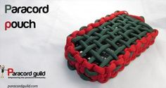 How to make a paracord pouch.