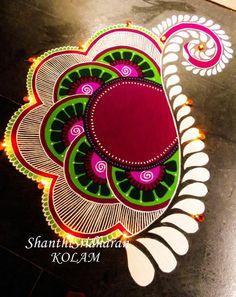51 Diwali Rangoli Designs Simple and Beautiful - monica jaiswal - HotelsPedi Best Rangoli Design, Rangoli Designs Latest, Latest Rangoli, Simple Rangoli Designs Images, Rangoli Designs Flower, Free Hand Rangoli Design, Rangoli Ideas, Colorful Rangoli Designs, Rangoli Designs Diwali