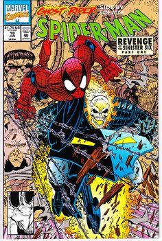 Spider-Man 18 1990 Series January 1992 Marvel Comics Grade