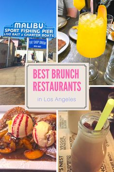 BEST BRUNCH SPOTS IN LOS ANGELES! See our favorite places to have brunch in LA - Malibu, Westside, Venice, Marina Del Rey, Hollywood! #Losangeles #Brunch #breakfast