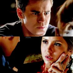 Stelena (Stefan Salvatore and Elena Gilbert) The vampire diaries