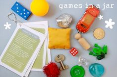 games in a jar for kids travel games
