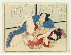 パブリックドメイン美術館 歌川派 春画 Japanese Prints, Japanese Art, Spring Pictures, Art Japonais, Gravure, Woodblock Print, Types Of Art, Erotic Art, Art Museum