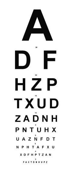 211 Best eye chart images Eye chart, Eye pattern, Glasses