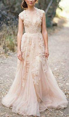 2016 Vintage-Spitze Wurfhülse Brautkleid eigene Hochzeitskleid