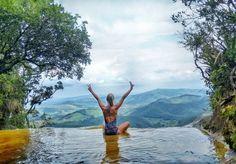 A incrível Janela do Céu, Parque Estadual do Ibitipoca - MG