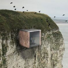Architecture for a post-apocalyptic world. A proposed bunker museum in the UK.