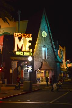 Universal's Islands of Adventure - Despicable Me. If I don't go here I will die