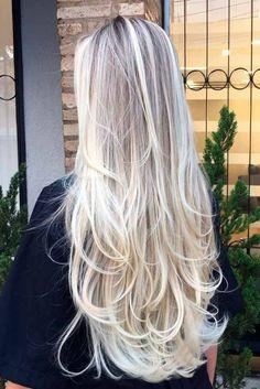 Nouvelle Tendance Coiffures Pour Femme 2017 / 2018 15 Coups de cheveux les plus jolis pour les cheveux longs pour 2017 Les coupes de cheveux pour les cheveux longs peuvent être