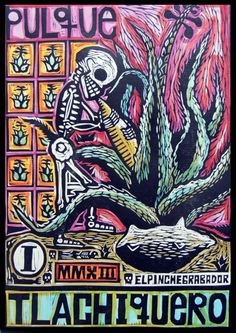 ...EL PULQUÉ LA BEBIDA MILENARIA DESDE NUESTROS ANCESTROS MAYAS; Y LA BEBIDA DE LOS DIOSES... ❤️  MIGUEL ÁNGEL GARCÏA Mexican Colors, Mexican Art, Mexican Style, Mexican Graphic Design, Mexico Tattoo, Punisher Skull, Aztec Art, Mesoamerican, Creepy Cute