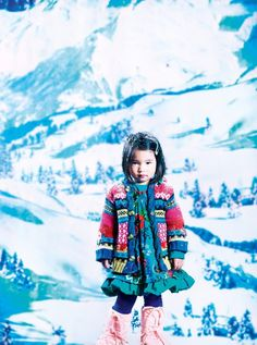 Franck Malthiery for Catamini kids fashion winter 2012 #kidsfashion #kidsdesignerfashon