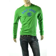 #Abercrombie & Fitch T Shirt A Upper Hudson Long Sleeve   get dressed at #imagestudio714 http://imagestudio714.com   please follow repin and share