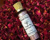 Vanilla Rose Magickal Incense Powder  - Love, Passion, Lust, Romance, Relationships, Beauty, Sex Magick, Goddess Aphrodite