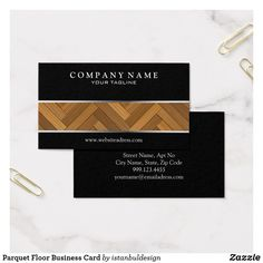 Parquet Floor Business Card