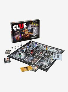Clue: Five Nights At Freddy's Edition Board Game, Clue Board Game, Board Games, Clue Games, Freddy Fazbear, Five Nights At Freddy's, Custom Items, Fnaf, Boards, Music