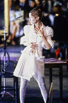 John Galliano Spring 1996 Ready-to-Wear Fashion Show - Carolyn Murphy