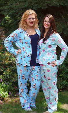 """The Pajama Company: PJ Salvage """"Cowgirl Cuties"""" and PJ Salvage """"Cupcakes"""""""