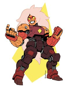 Mech Jasper | Steven Universe | Know Your Meme