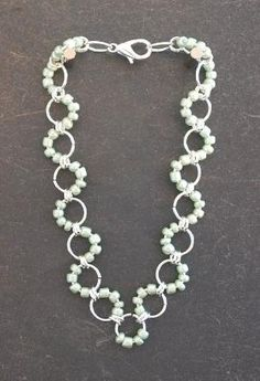 Beaded Chainmaille Bracelet by opal