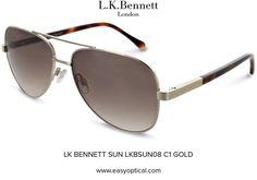 LK BENNETT SUN LKBSUN08 C1 GOLD Lk Bennett, Bond Street, Duchess Of Cambridge, Eyewear, London, Sunglasses, Luxury, Stylish, Gold