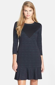 Leola Couture Colorblock Dress (Juniors) available at #Nordstrom