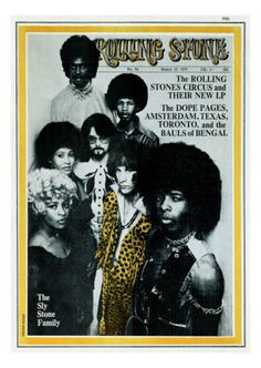 Sly and the Family Stone, Rolling Stone no. 54, March 1970