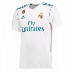 Real Madrid Hjemmebanetrøje 17-18 Kort ærmer #Billige #Fodboldtrøjer