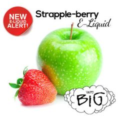 With its tart and tangy flavor of Granny Apples together with the deliciously sweet taste of freshly picked strawberries, this Strapple-berry E-Liquid is just one that you can't go wrong with! This is the Rolls-Royce of sweet-and-sour flavors!
