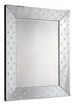 Espelho veneziano Estrela. Simples e chique :)